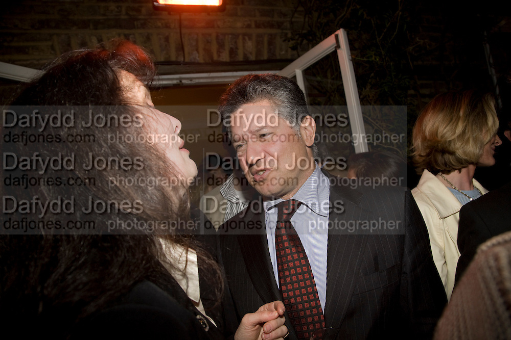 PETER SOROS, Book launch for American's in Paris by Charles Glass hosted by Lady Annabel Lindsay. Holland Park. London. 25 March 2009 *** Local Caption *** -DO NOT ARCHIVE-© Copyright Photograph by Dafydd Jones. 248 Clapham Rd. London SW9 0PZ. Tel 0207 820 0771. www.dafjones.com.<br /> PETER SOROS, Book launch for American's in Paris by Charles Glass hosted by Lady Annabel Lindsay. Holland Park. London. 25 March 2009