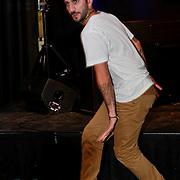 NLD/Amsterdam/20110907 - Presentatie Cosmopolitan Man 2011, dansers Chaggie en Natascha