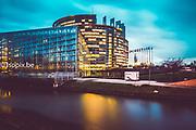 European Parliament in Strasbourg<br /> Photo by : @dainalelardic <br /> .<br /> .<br /> .<br /> @isopixbelgium @europeanparliament #strasbourg #picoftheday #photooftheday #europe #parlementeuropeen #closeup #politics #europeanunion #architecture #strasbourgbynight