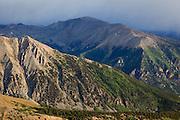 Colorado's highest peak Mount Elbert 14,433ft  in the Sawatch Range.