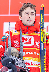 02.02.2020, Seefeld, AUT, FIS Weltcup Nordische Kombination, Langlauf, Siegerehrung, im Bild Jarl Magnus Riiber (NOR) // Jarl Magnus Riiber of Norway during the winner ceremony of FIS Nordic Combined World Cup at the Seefeld, Austria on 2020/02/02. EXPA Pictures © 2020, PhotoCredit: EXPA/ Stefan Adelsberger