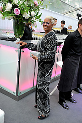 DIONNE WARWICK at the Glamour Women of the Year Awards 2012 in association with Pandora held in Berkeley Square Gardens, London W1 on 29th May 2012.