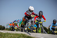 12 Boys #261 (KISHI Ryunosuke) JPN at the 2018 UCI BMX World Championships in Baku, Azerbaijan.