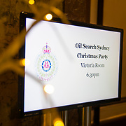Oil Search 2018 Christmas Party - Masquerade Ball