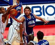 EUROPEI STOCCOLMA 2003<br /> FINALE 3 - 4 POSTO <br /> ITALIA - FRANCIA<br /> NELLA FOTO: GIACOMO GALANDA<br /> FOTO CIAMILLO
