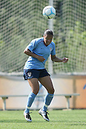 24 April 2008: Angela Hucles. The United States Women's National Team held a training session on Field 3 at WakeMed Soccer Park in Cary, NC.