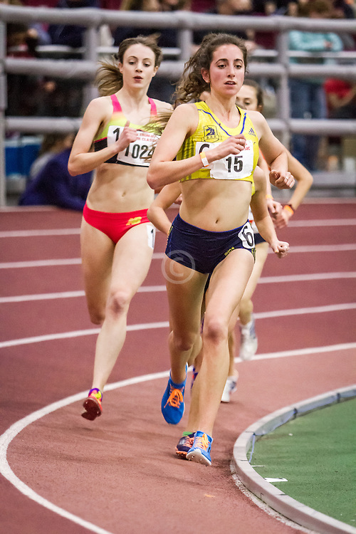 women's 3000, Elaina Balouris, BAA, Boston University John Terrier Invitational Indoor Track and Field