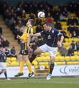 Dundee' sGavin Rae and Livingston's Kyle Jacobs - Livingston v Dundee - SPFL Championship at Almondvale <br />  - &copy; David Young - www.davidyoungphoto.co.uk - email: davidyoungphoto@gmail.com