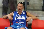 DESCRIZIONE : Ortona Italy Italia Eurobasket Women 2007 Bielorussia Italia Belarus Italy<br /> GIOCATORE : Laura Macchi<br /> SQUADRA : Nazionale Italia<br /> EVENTO : Eurobasket Women 2007 Campionati Europei Donne 2007 <br /> GARA : Bielorussia Italia Belarus Italy<br /> DATA : 03/10/2007 <br /> CATEGORIA : delusione<br /> SPORT : Pallacanestro <br /> AUTORE : Agenzia Ciamillo-Castoria/E.Castoria<br /> Galleria : Eurobasket Women 2007 <br /> Fotonotizia : Ortona Italy Italia Eurobasket Women 2007 Bielorussia Italia Belarus Italy<br /> Predefinita : si