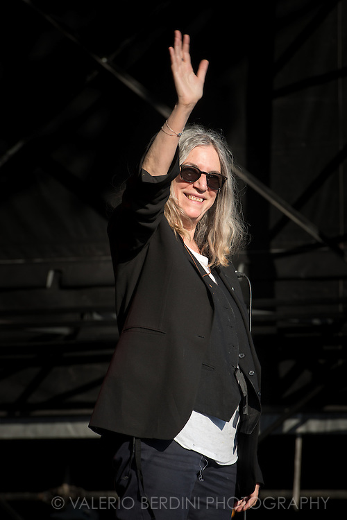 Patti Smith performs Horses in full live at Field Day 2015 in Victoria Park, London