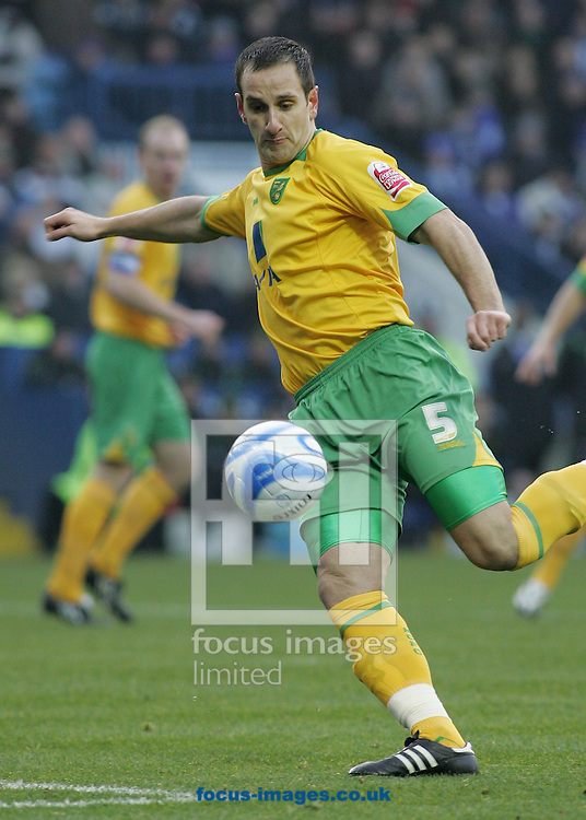 Sheffield - Sunday November 29th, 2008: John Kennedy of Norwich City against Sheffield Wednesday during the Coca Cola Championship match at Hillsborough, Sheffield. (Pic by Michael Sedgwick/Focus Images)