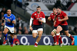 Jonny May of England runs in the opening try of the match - Photo mandatory by-line: Patrick Khachfe/JMP - Mobile: 07966 386802 22/11/2014 - SPORT - RUGBY UNION - London - Twickenham Stadium - England v Samoa - QBE Internationals