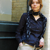 Antonietta Lunesu<br /> Italy / London, UK<br /> <br /> Elif Shafak, Turkish author, columnist, speaker and academic, photographed at the Festival Delle Letterature in 2007.