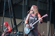 Pepper Keenan of Corrosion of Conformity performs at Knotfest 2015 on Saturday, October 24, 2015, at San Manuel Amphitheater in Devore, California. (Photo by: Charlie Steffens)