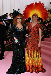 Sophie Von Haselberg and Bette Midler attending the Metropolitan Museum of Art Costume Institute Benefit Gala 2019 in New York, USA.