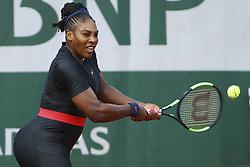 June 3, 2018 - Paris, France - Serena Williams  (Credit Image: © Panoramic via ZUMA Press)