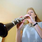 Martine Kruisbeek Hagedis 9 Huizen winnares met de klarinet Rodesteen en Partners vriendenprijs