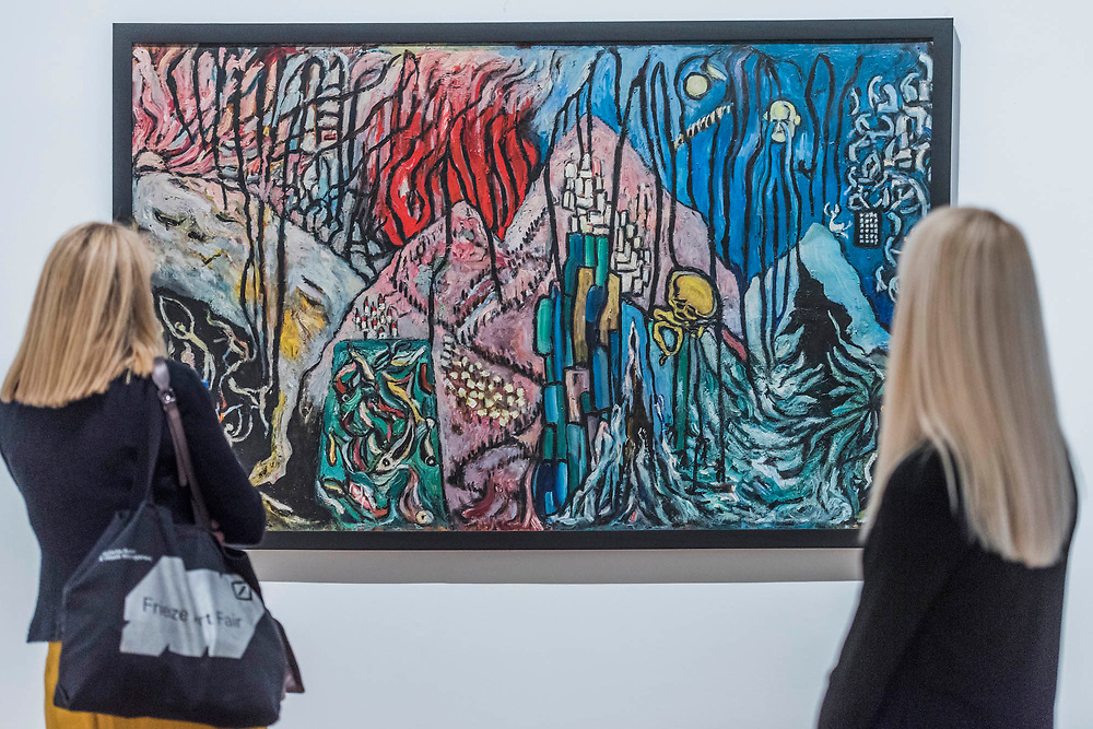 Princess Fahrelnissa Zeid: the UK's first retrospective of a pioneering artist best known for her large-scale colourful canvases, fusing European approaches to abstract art with Byzantine, Islamic and Persian influences. The exhibition is at Tate Modern from 13 June – 8 October 2017.
