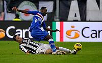 Federico Peluso Juventus.Calcio Juventus vs Sampdoria.Serie A - Torino 06/1/2013 Juventus Stadium .Football Calcio 2012/2013.Foto Federico Tardito Insidefoto