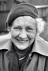 Portrait of an elderly woman, Nottingham, UK 1989