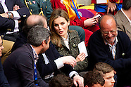 042414 Princess Letizia at Volleyball's 'Spain Championships 2014 schoolchildren'