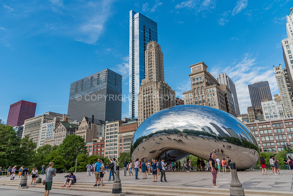 The Bean in Chicago, Illinois.