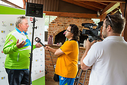 Darko Kegl at Media day of the Deaf tennis player Marino Kegl, organised by ZSIS - POK, on June 29, 2017 in Murska Sobota, Slovenia. Photo by Vid Ponikvar / Sportida