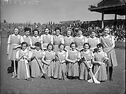 Camogie - All Ireland Senior Final at Croke Park - Dublin vs. Tipperary. Dublin are victorious..Dublin Team.02/08/1953