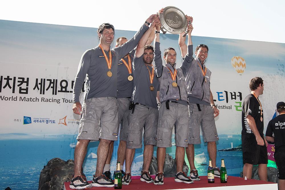 Mathieu Richard wins Korea Match Cup 2013. Gyeonggi Province, Korea. 2 June 2013 Photo: Subzero Images/AWMRT