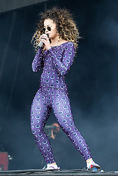© Licensed to London News Pictures .06/06/2015. Manchester , UK. ELLA EYRE performs on the main stage at The Parklife 2015 music festival in Heaton Park , Manchester . Photo credit : Joel Goodman/LNP