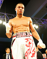 Picture by Alan Stanford/Focus Images Ltd +44 7915 056117<br /> 16/11/2013<br /> Eubank Jr. defeats Frankie Borg during their middleweight bout at Glow Bluewater, Greenhithe.