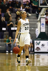 18 March 2011: Hope Schulte during an NCAA Womens basketball game between the Washington University Bears and the Illinois Wesleyan Titans at Shirk Center in Bloomington Illinois.