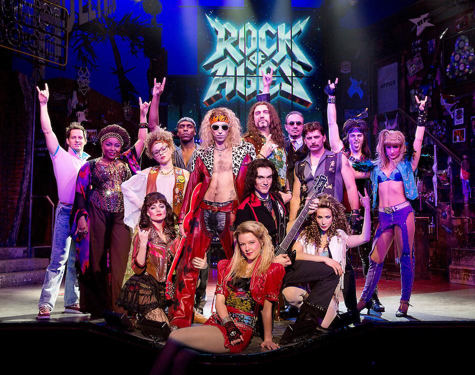 ROCK of AGES Setups .Credit photo: © Paul Kolnik.paul@paulkolnik.com.nyc  212-362-7778