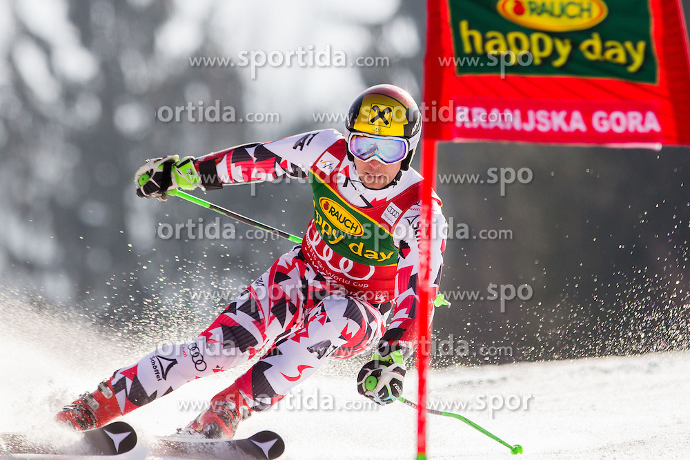 HIRSCHER Marcel of Austria during Men Giant Slalom race of FIS Alpine Ski World Cup 54th Vitranc Cup 2015, on March 14, 2015 in Kranjska Gora, Slovenia. Photo by Ziga Zupan / Sportida