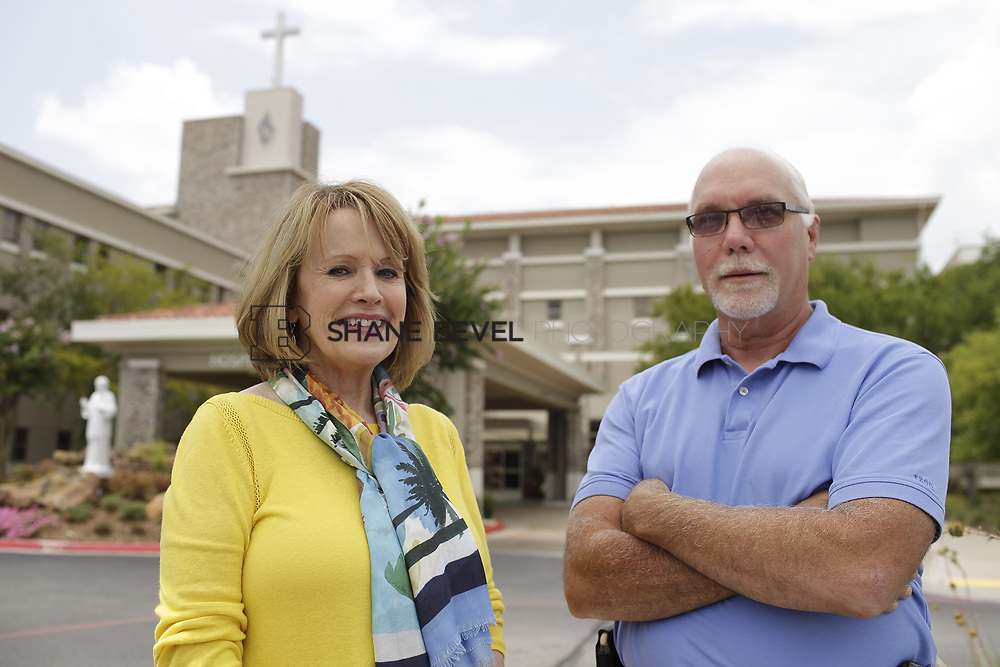 8/9/17 2:09:19 PM -- Photos of Saint Francis South employees and David Weil. <br /> <br /> Photo by Shane Bevel