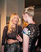 CLAUDIA SCHIFFER; JADE PARFITT, Vogue: Fashion's Night Out: Armani. Bond st.  London. 8 September 2010.  -DO NOT ARCHIVE-© Copyright Photograph by Dafydd Jones. 248 Clapham Rd. London SW9 0PZ. Tel 0207 820 0771. www.dafjones.com.