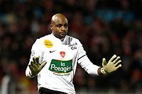 FOOTBALL - FRENCH CHAMPIONSHIP 2011/2012 - L1 - LILLE OSC v STADE BRESTOIS  - 26/11/2011 - CHRISTOPHE ELISE / DPPI - STEEVE ELANA (STADE BRESTOIS)