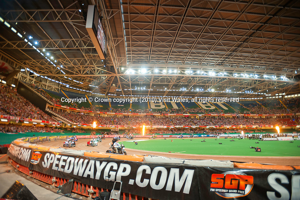 FIM British Speedway Grand Prix 2010<br /> Millennium Stadium<br /> Cardiff<br /> Motor Sports<br /> Activities and Sports