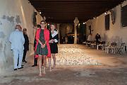 EMMANUELLE DE NOIRMONT; CAMILLE MICEH; , preview of Pinchuk Foundation's Future Generation Art Prize,     Palazzo Contarini PolignacVenice. Venice Bienalle. Thursday 30 May).