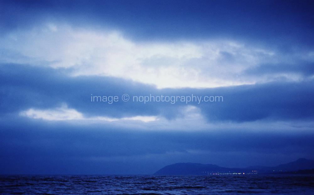View of Bray from Killiney, Dublin, ireland