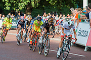 The Womens Grand Prix - which is won by Barbara Guarischi. Prudential RideLondon a festival of cycling, with more than 95,000 cyclists, including some of the world's top professionals, participating in five separate events over the weekend of 1-2 August.