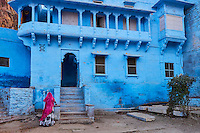 Inde, Rajasthan, Jodhpur la ville bleue // India, Rajasthan, Jodhpur, the blue city
