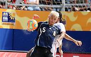 Footbal-FIFA Beach Soccer World Cup 2006 -  Oficial Games BHR x ARG - Lopez R.- Brazil - 04/11/2006.<br />Mandatory Credit: FIFA/Ricardo Ayres
