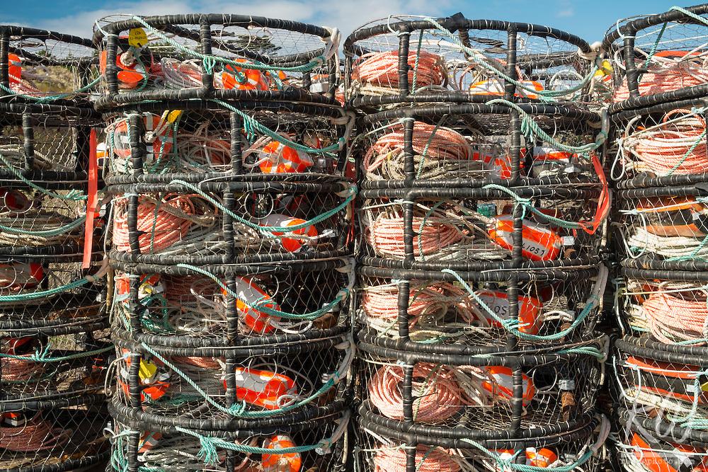 Crab Pot Traps, Bodega Bay, California