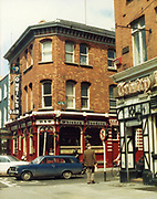 Old Dublin Amature Photos Date Unknown With 1980s O'Neills Pub, Trinity, Ford Escort Estate, Car,