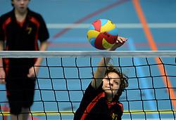 05-01-2013 VOLLEYBAL: NOJK 2013: HOUTEN<br /> In 25 sporthallen worden vandaag de Nationale Open Club Kampioenschappen gehouden, jeugd CMV / <br /> ©2012-FotoHoogendoorn.nl