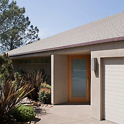 Architect Kelly Crain and owner Robert Treloar put their heads together to update this classic 1970 Joseph Lancor design on the edge of Torrey Pines State Park in Del Mar California. The result honors the amazing site while remaining true to the original mid-century design.