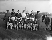 14/03/1956<br /> 03/14/1956<br /> 14 March 1956<br /> Soccer: Army Championship Final, Southern Command v Eastern Command at the Army Ground, Phoenix Park, Dublin. The Southern Command team.