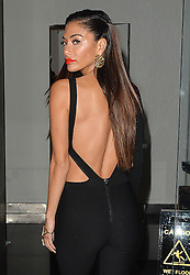 Nicole Scherzinger arriving at the Jumeirah Lowndes Hotel in London, UK. 21/11/2016<br />