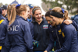 London, Ontario ---2012-11-10--- The Victoria Vikes get ready at the 2012 CIS Cross Country Championships at Thames Valley Golf Course in London, Ontario, November 10, 2012. .GEOFF ROBINS Mundo Sport Images